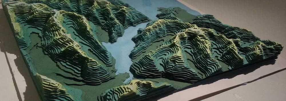 topografine nuotrauka